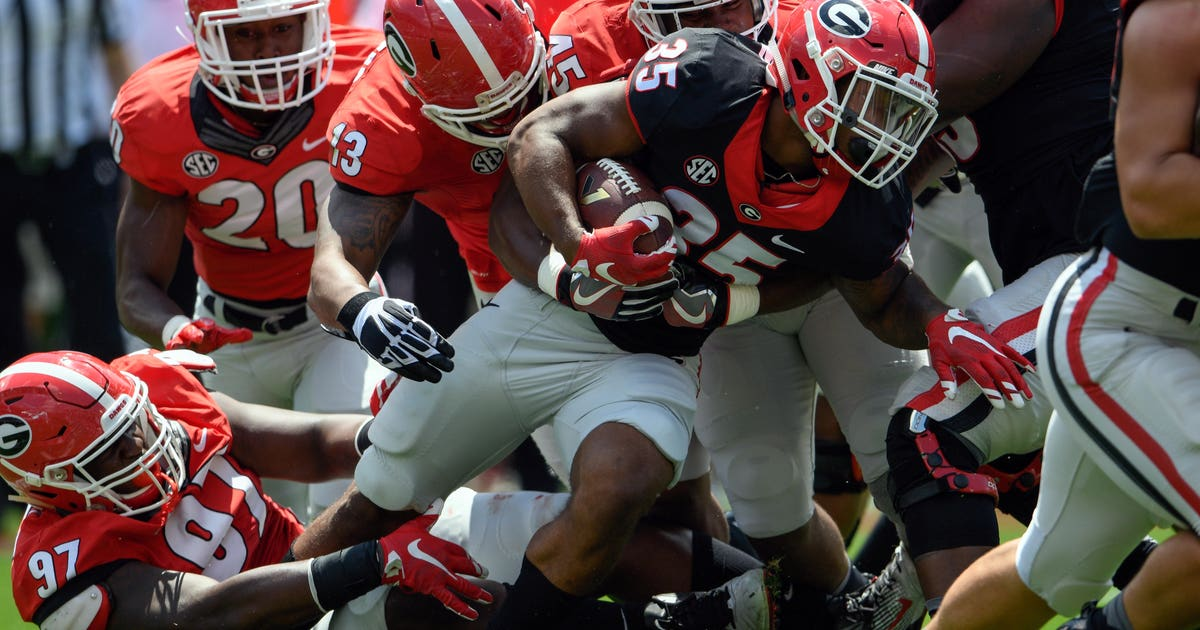 The 2014 Georgia Bulldogs football team represented the University of Georgia in the 2014 NCAA Division I FBS football season They were led by head coach Mark Richt