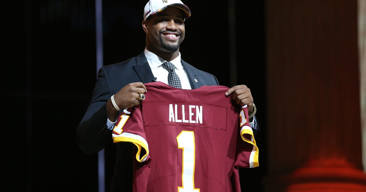 finest selection 33831 157ad Washington Redskins  2017 NFL Draft pick-by-pick analysis   FOX Sports