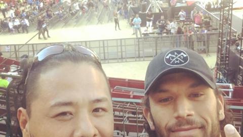 Shinsuke Nakamura and Fandango in Valencia, Spain
