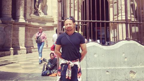 Shinsuke Nakamura in Valencia, Spain