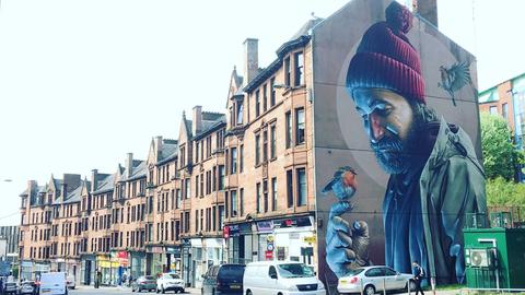 Shinsuke Nakamura in Glasgow, Scotland