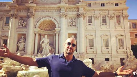 Cesaro in Rome, Italy
