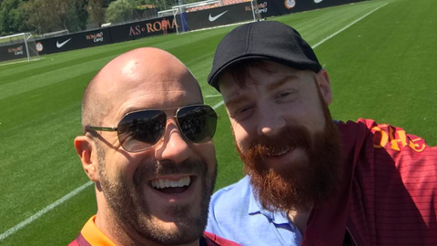 Cesaro and Sheamus in Rome, Italy