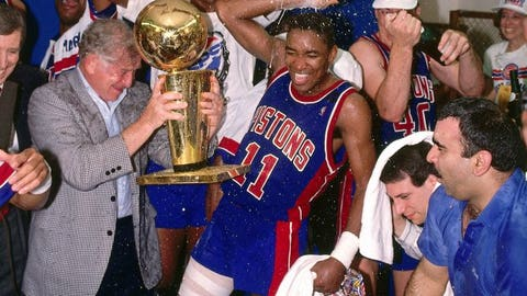 1989: Detroit Pistons sweep the Los Angeles Lakers