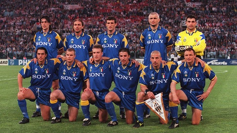 Juventus — Won 1995/96 Champions League