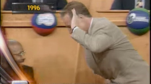 1996: Sixers president Pat Croce high-fives everyone