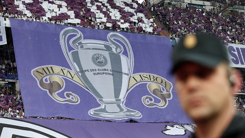 Real's fans rubbed their success in Atletico's faces