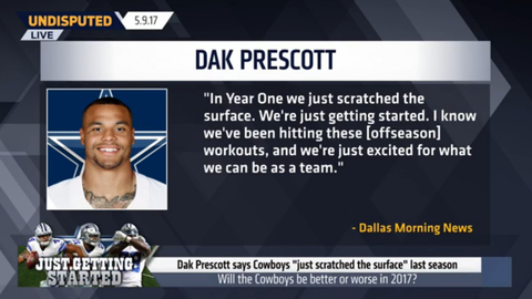 Dak Prescott: 'We just scratched the surface'