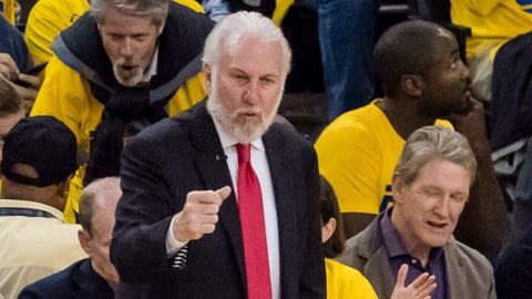 Gregg Popovich: 'We need to get slapped'