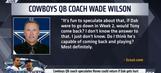 Cowboys QB coach speculates Tony Romo could return if Dak Prescott gets hurt | UNDISPUTED