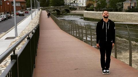 Finn Balor in Bray, Ireland