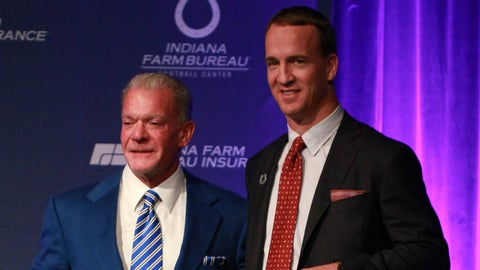 Peyton Manning took the high road by forgiving Irsay