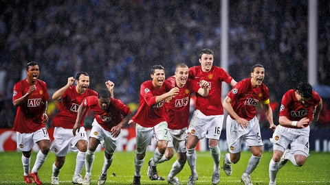 Manchester United — Won 2007/08 Champions League