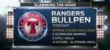 Rangers Live: Bullpen impressive in win over Padres