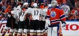 Silfverberg scores in OT as Ducks top Oilers 4-3 in Game 4