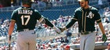 Cotton, A's stop slide with 8-5 win over Twins