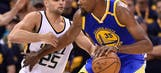 Durant scores 38 points, Warriors beat Jazz to take 3-0 lead (May 06, 2017)