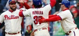Galvis drives in winning run, Phillies beat Nats 6-5 in 10 (May 07, 2017)