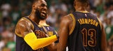 LeBron, Love help Cavs rout Celtics 117-104 in Game 1 (May 17, 2017)