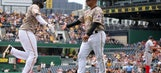 Frazier's 4 RBIs, homers by Bell, Jaso lift Bucs over Nats (May 18, 2017)