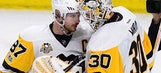 Sidney Crosby, Penguins beat Senators 3-2 to tie series