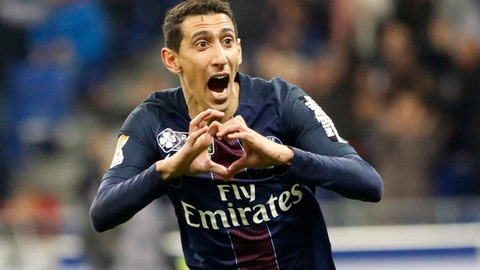 Paris Saint-Germain: $841 million