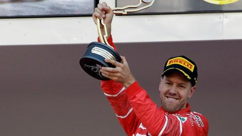 14. Sebastian Vettel: $38.5 million