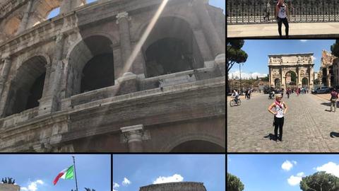 Alexa Bliss in Rome, Italy