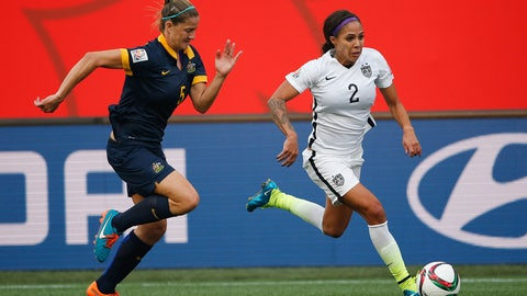 USWNT vs. Australia, July 27