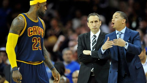 Ty Lue is in a high-risk, low-reward position