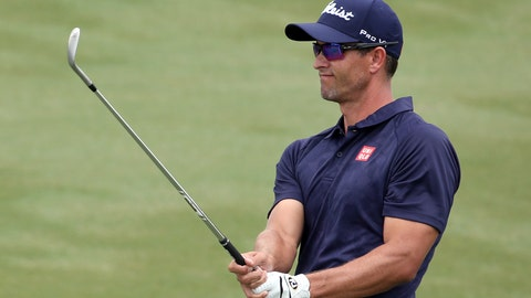 1:30 p.m. ET - Adam Scott (-3)