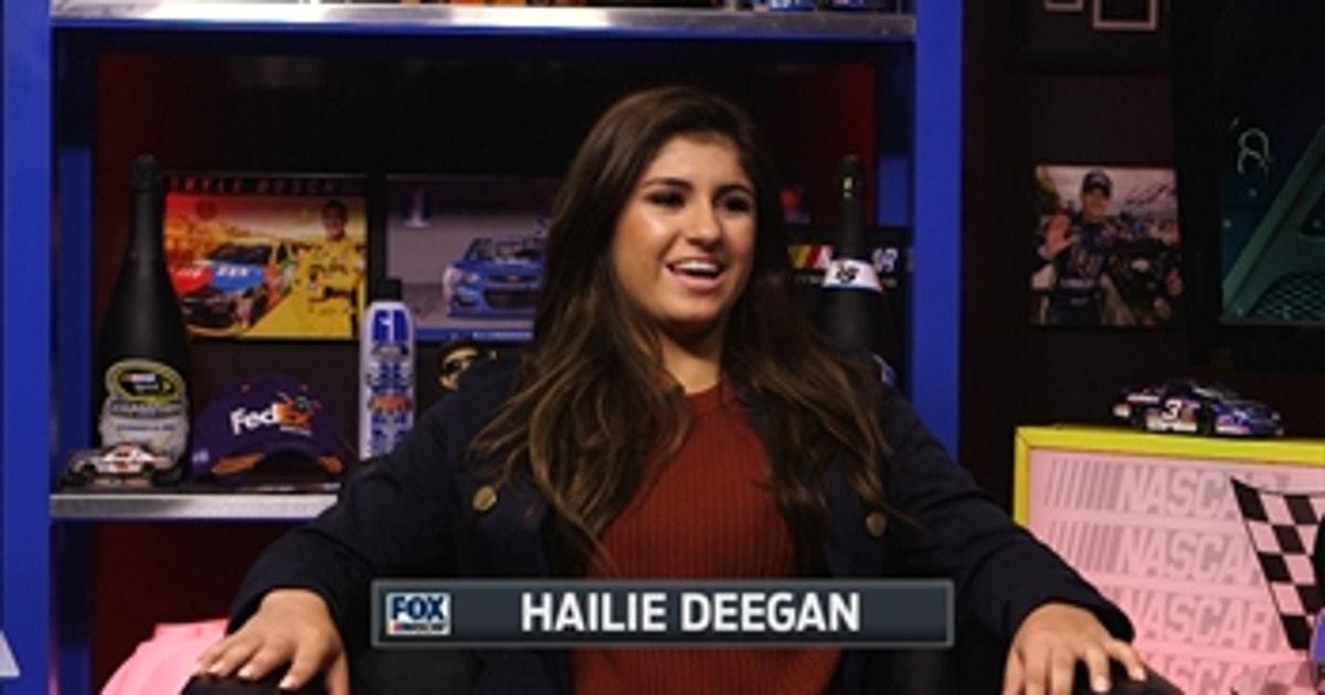 nascar  class profile hailie deegan fox sports