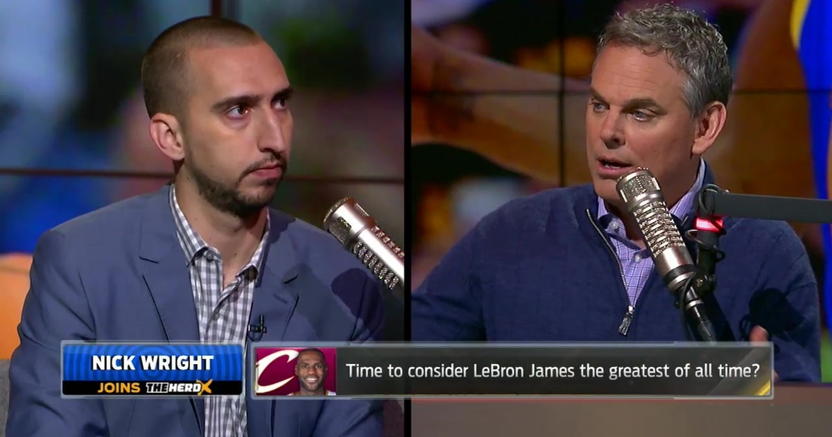 d6022740783f Nick Wright on LeBron James as GOAT