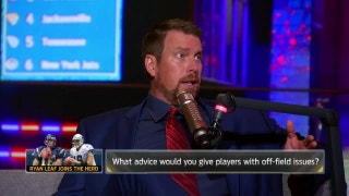 Ryan Leaf provides NFL Draft analysis and shares his story | THE HERD (FULL INTERVIEW)