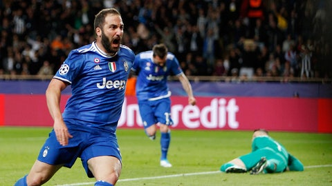 Gonzalo Higuain came up big, eventually