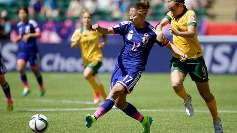 Japan vs. Australia, July 30