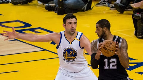 Zaza Pachulia saved the Warriors' season