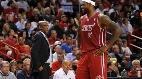 Mike Brown on how LeBron has improved his game: