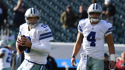 The quarterback situation might still be up in the air