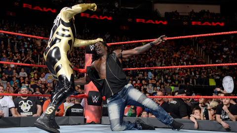 """Fox Sports: When you attacked R-Truth, the fans in Newark chanted """"thank you Goldust."""" What was your reaction to that?"""