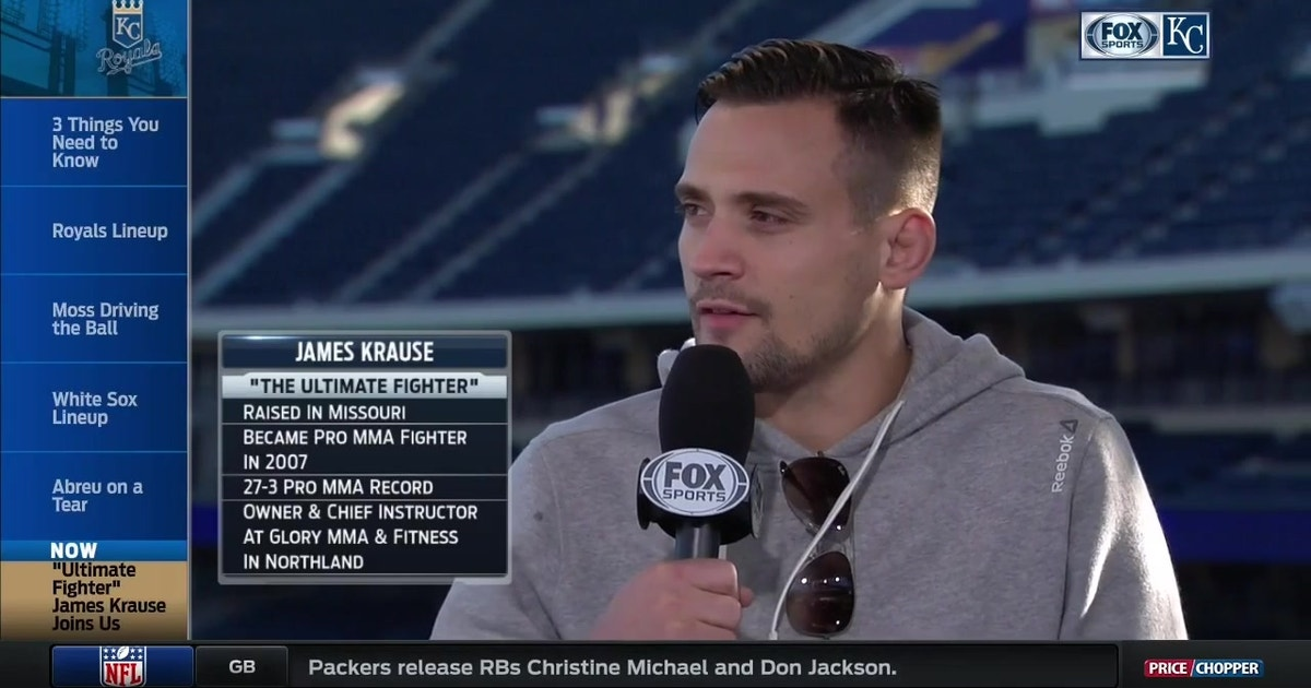 Local MMA fighter James Krause to compete on 'The Ultimate Fighter' | FOX Sports
