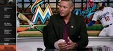 Miguel Rojas visits the set and joins Marlins LIVE