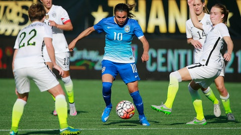 USWNT vs. Brazil, July 30