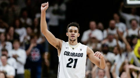 Derrick White, G, Colorado