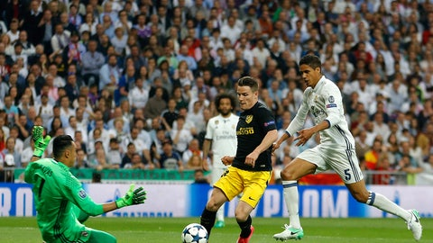 Raphael Varane came back at the perfect time