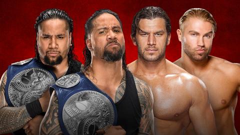 The Usos vs. Breezango for the SmackDown Tag Team Championship
