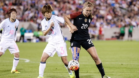 USWNT vs. Japan, Aug. 3