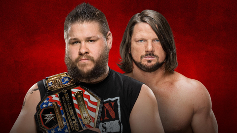 Kevin Owens vs. AJ Styles for the United States Championship