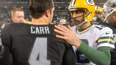 8. Packers-Raiders: 15/1