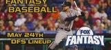 Daily Fantasy Baseball Advice – May 24 – DraftKings